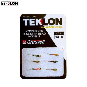 ASSORTIMENT DE 6 MOUCHES TEKLON PERDIGONS B