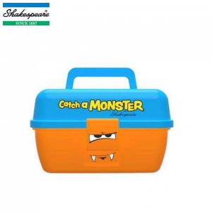 BOITE DE PECHE ENFANT SHAKESPEARE CATCH A MONSTER ORANGE