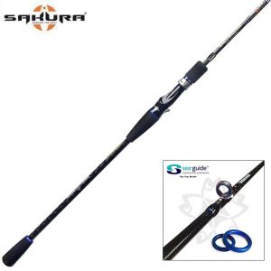 CANNE CASTING LIGHT JIGGING SAKURA SALT SNIPER 2.0 - 631 LJ1