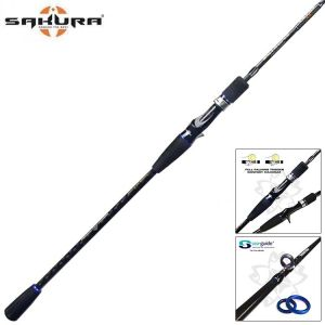 CANNE SLOW JIGGING SAKURA SALT SNIPPER CASTING 2.0 642 SJ2