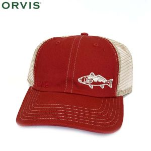 CASQUETTE ORVIS SALTWATER BUM CAP WASHED RED