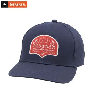 CASQUETTE SIMMS BIG SKY COUNTRY CAP ADMIRAL BLUE