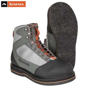 CHAUSSURES DE WADING SIMMS TRIBUTARY BOOT STRIKER GREY FEUTRE