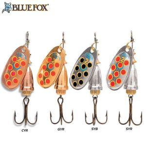 CUILLER TOURNANTE BLUE FOX VIBRAX HOT PEPPER