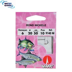 HAMECON MONTÉ COUP ROND NICKELE WATER QUEEN 50CM