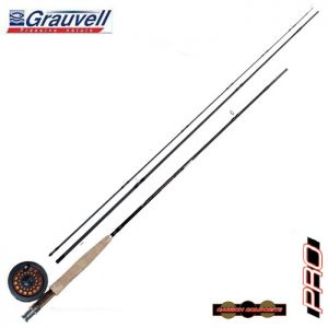 ENSEMBLE MOUCHE GRAUVELL COMBO PRO FLY 9045