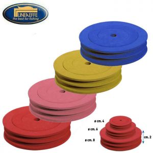 SET 3 PLIOIRS MOUSSE ROND DOUBLE LINEAEFFE