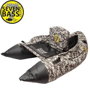 FLOAT TUBE SEVEN BASS SDB HARD FABRIC LINE