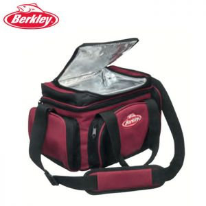 SAC BERKLEY SYSTEM BAG RED BLACK L + 4 BOITES