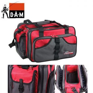 SAC A LEURRES DAM STEELPOWER RED PILK BAG