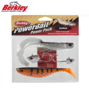 KIT LEURRES SOUPLES BERKLEY POWERBAIT CATFISH PRO PACK