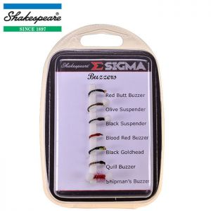 PACK DE MOUCHES SHAKESPEARE SIGMA FLY SELECTION N°7