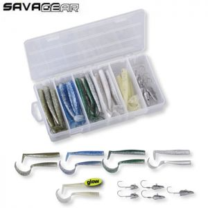 PACK LEURRES SAVAGE GEAR SANDEEL KIT