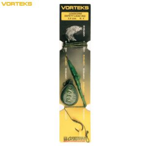 VORTEKS LEADCORE SAFETY LEAD RIG N°4 - 2.5OZ