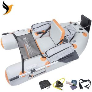 FLOAT TUBE SPARROW EXPEDITION 180 GRIS / ORANGE