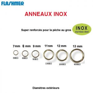 ANNEAUX FORGES FLASHMER SOLID INOX