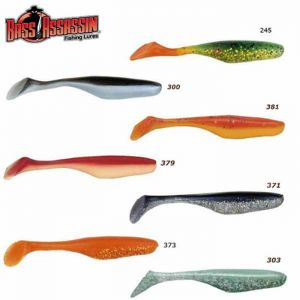 LEURRE BASS ASSASSIN TURBO SHAD 10 CM
