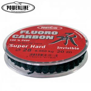 NYLON POWERLINE FLUOROCARBON SUPER HARD 20M
