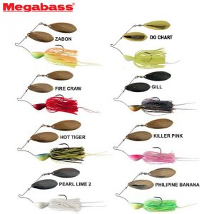 SPINNERBAIT MEGABASS V FLAT POWER BOMB