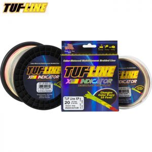 TRESSE MULTICOLORE TUF LINE XP INDICATOR