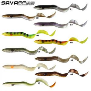 LEURRE SOUPLE SAVAGE GEAR REAL EEL LOOSE BODY 40CM