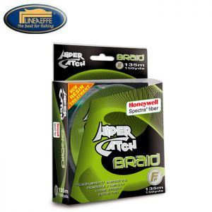 TRESSE LINEAEFFE HiPER CATCH SPECTRA BRAID 135M