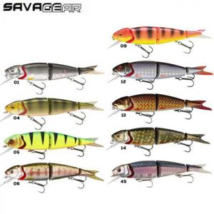 LEURRE SAVAGE GEAR 4PLAY HERRING LOWRIDER 9.5CM