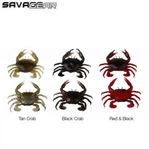 LEURRE SAVAGE GEAR 3D MANIC CRAB