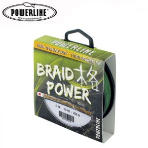 TRESSE POWERLINE BRAID POWER VERTE