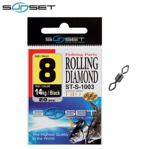 EMERILLON SUNSET ROLLING DIAMOND ST-S-1003