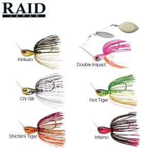 SPINERBAIT RAID JAPAN LEVEL SPIN
