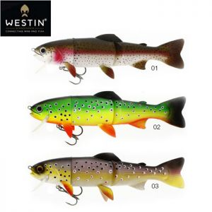 LEURRE WESTIN TOMMY THE TROUT 25CM