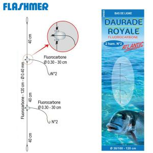 BAS DE LIGNE FLASHMER DAURADE ROYALE ATLANTIC