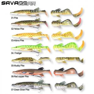 LEURRE SAVAGE GEAR 3D HYBRID PIKE