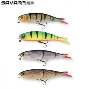 LEURRE SOUPLE SAVAGE GEAR SOFT 4PLAY READY TO FISH 13CM