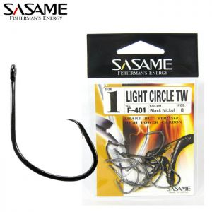 HAMEÇON SASAME LIGHT CIRCLE TW BN