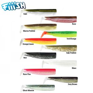 RECHARGE FIIISH BLACK MINNOW 70MM