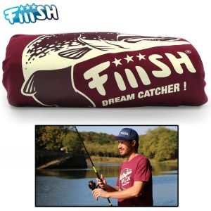 T-SHIRT FIIISH BROCHET BORDEAUX