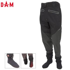 PANTALON WADING RESPIRANT DAM EFFZETT STOCKING FOOT