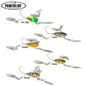 LEURRE MICRO SPINNERBAIT POWERLINE JIG POWER DRAGON FLY