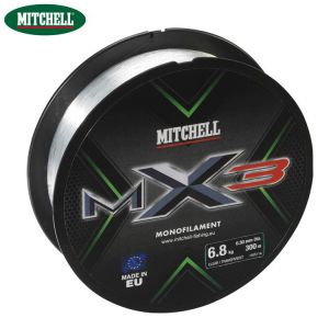 NYLON MITCHELL MX3 CLEAR - 300M