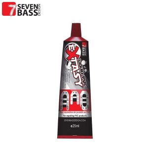 KIT DE REPARATION PVC SEVEN BASS EXTASY LIQUIDE TRANSPARENT