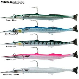 LEURRE SOUPLE SAVAGE GEAR 3D NEEDLE FISH PULSE TAIL 2+1