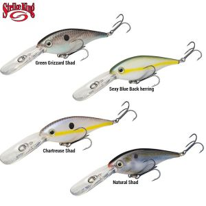 LEURRE STRIKE KING LUCKY SHAD PRO MODEL 7,5CM