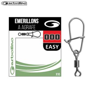 MICRO EMERILLONS SIMPLE + AGRAFE EASY GARBOLINO STREAMLINE