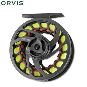 MOULINET MOUCHE ORVIS CLEARWATER LARGE ARBOR II GREY