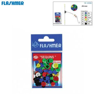 SEQUINS ASSORTIS FLASHMER 6MM