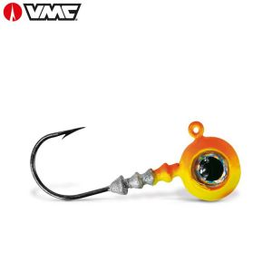TETE PLOMBÉE VMC BIG EYE CHATREUSE ORANGE
