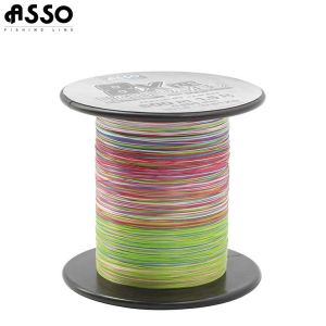 TRESSE ASSO LIGHT GAMES 8X 600M MULTICOLOR