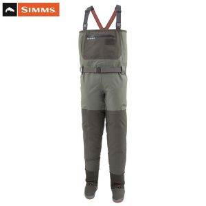 WADERS SIMMS FREESTONE STOCKINGFOOT DARK GUNMETAL